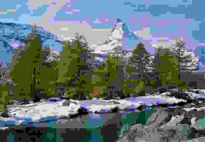 Monte Cervino, una de las cumbres más altas de los Alpes