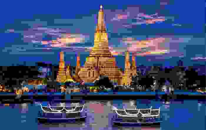 Wat Arun, Templo del amanecer en Bangkok