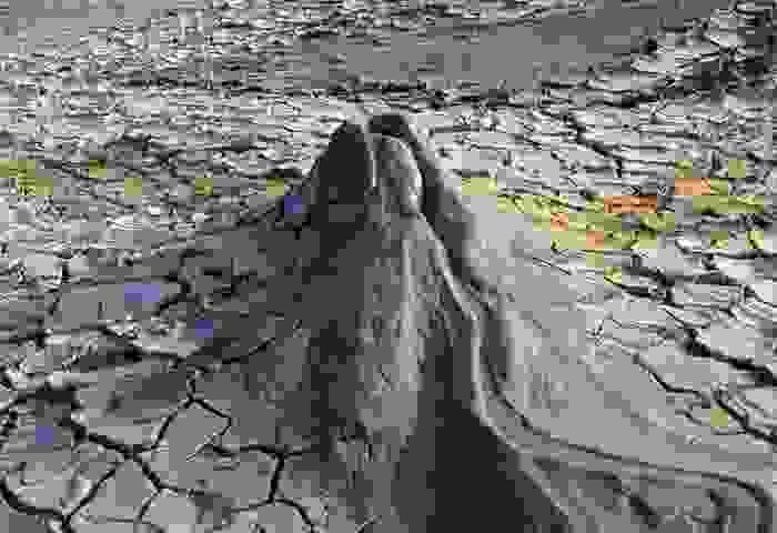 Volcán de barro en Gobustan