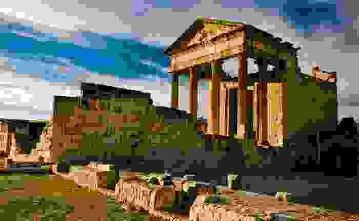 Capitolio de Dougga, construido en el siglo II