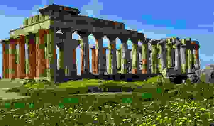 Ruinas romanas de la ciudad de Cartago
